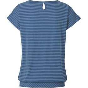 VAUDE Skomer II - T-shirt manches courtes Femme - bleu